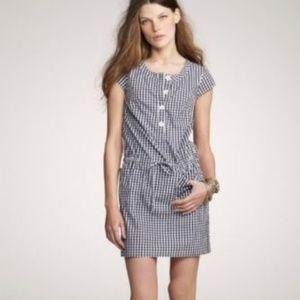 J.Crew Olivia Plaid Shift Dress